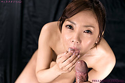 Licking Cum From Her Fingers Holding Spent Cock