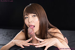 Licking Head Of Cock Naked With Long Hair