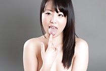 Cutie Shirayuki Yuka sucking cock nude with cum in mouth