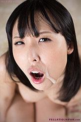 Natsuki Yokoyama With Cum On Her Face