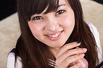 Kogal Yamamoto Erena Giving Handjob In Seifuku Uniform