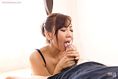 Licking Head Of Hard Cock Cumming In Her Mouth