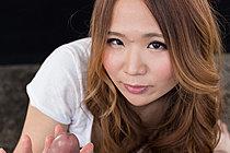 Auburn Haired Matsumoto Rena Giving Handjob Cum Over Hands