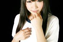 Long haired cutie Mizushima Ai wearing gym class uniform