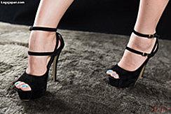 Kotomi Shinosaki In High Heels
