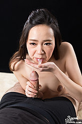 Isaka Nao Spitting Cum Onto Palm Of Her Hand