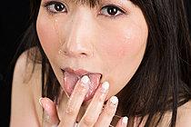 Sakiada Minami Sucking Cock In Lingerie Taking Cum In Mouth