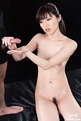 Kneeling Naked Hand Outstretched Cum Over Hand
