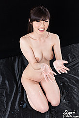 Hands Outstretched Cum Over Her Hands