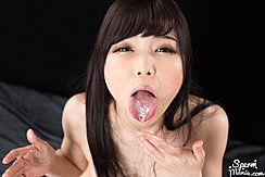 Aoi Shino With Cum In Her Mouth