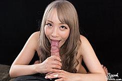 Mashiro Airi Licking Cock Head