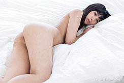 Nude On Bed Looking Back