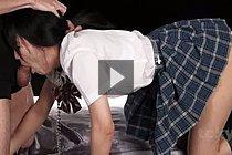 Student Kurihara Moeka Deep Throating Cock In Uniform